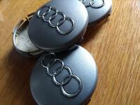 Genuine Audi (A2, A3) alloy wheel centre caps