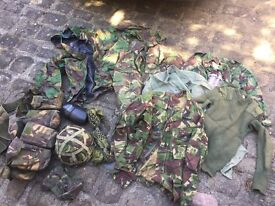 Set of Army/Combat/Camouflage Gear