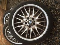 "18"" BMW MV1 Alloy Wheels x4"
