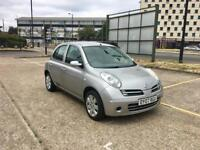 2007 NISSAN MICRA 1.4 - ONLY 82K MILEAGE, Petrol, Manual, Silver, 5 Doors, 12 MONTHS MOT, Cheap Cars