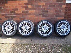 Oz Racing Superturismo Wheels and Tyres