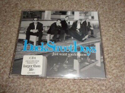 CD SINGLE - BACKSTREET BOYS - JUST WANT YOU TO KNOW , usado comprar usado  Enviando para Brazil