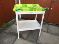 Changing table baby