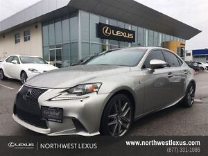 2014 Lexus IS 350 F SPORT EXECUTIVE PACKAGE