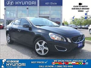 2013 Volvo S60 T5|ALLOYS|SUNROOF|BLUETOOTH|KEYLESS ENTRY