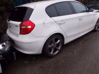 BMW 1 2009 BREAKING FOR SPARES PARTS