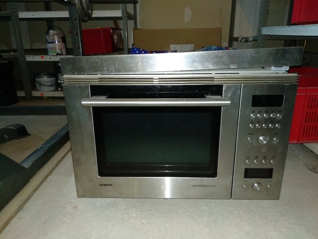 Siemens Stainless Steel Integrated Combi Microwave Oven