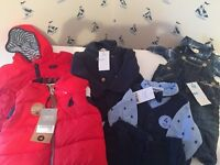 Baby boy clothes and shoe/trainer bundle (mostly brand new with tags)