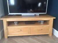 Solid Oak TV Unit (from Next)