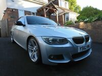 BMW 320d M Sport, Paddle gearbox.