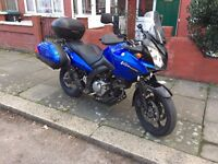 Suzuki DL-650 V-Strom 2008 in Mint Condition, Low Millage and Fresh MOT with Lots of Touring Extras