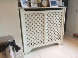 3 No MDF Radiator Covers in white