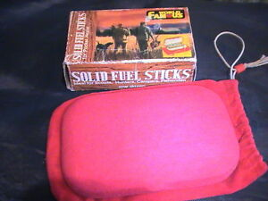 Felt Pocket Heater with Fuel Sticks (Collectible)