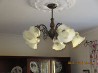 Chandelier with 5 shades