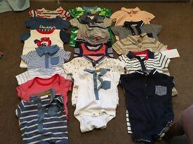 Baby Boy summer clothes bundle