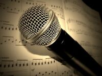 Singing Teacher - Face to Face lessons or Online!