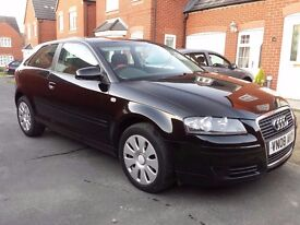 2008 AUDI A3 1.6 SE,MANUAL,105 BHP,9 MONTHS MOT,SERVICE HISTORY,1 OWNER FROM NEW,CHEAP CAR,PX..