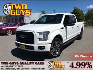 2015 Ford F-150 SPORT LIKE NEW MILEAGE! CREW CAB FULL BOX 4WD