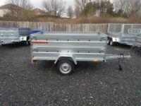 NEW Car trailer 7.7 x 4.2 double broadside £870 inc vat