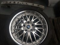 bmw 17inch wheels and tyres