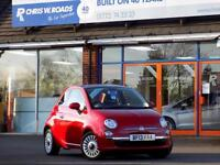 FIAT 500 0.9 TWINAIR LOUNGE 3dr 85 BHP (red) 2013