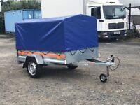 Tema 7 x4 car trailer
