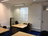 6 to 8 Desk Office | Lower Rear Ground Floor | Tube 4 mins | West End London WC1B
