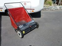 comercial quality leaf or drive sweeper