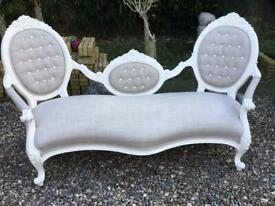 Immaculate French sofa