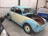 1971 vw beetle un finished project