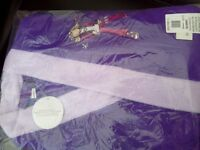 Girls Groovy Robe 11-12 years. NEW. Purple&Pink.
