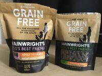 Grain free dog treats.