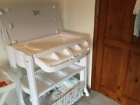 My child peachy changing table