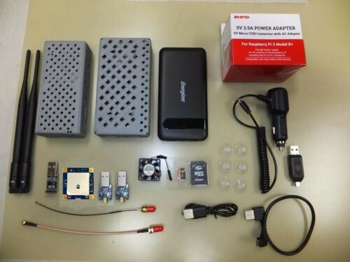 Stratux ADS-B, RY836Ai AHRS & GPS, power bank, Serial Out