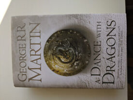 A Dance with Dragons first edition hardback book (A Song of Ice and Fire / A Game of Thrones)