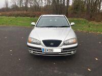 Hyundai elantra cdx crtd turbo diesel 2.0cc 110bhp 5 door 06/2006 2 former keepers 127k full history