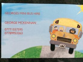 MINIBUS FOR HIRE-UP TO 16 SEATS-AIRPORT,STAGS,HENS ANYTHING