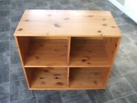 Stompa Rondo Cabin Bed Pine Cube Drawer Cabinet,Book Case, Storage Unit Collection from Essex SS6
