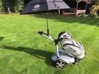 Stewart Golf X3R Remote Electric Trolley Set