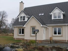 4/5 bedroom house for rent just south of Inverness!