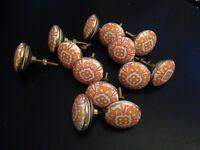 Beautiful ceramic knobs, craft, furniture, retro, vintage