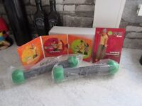 zumba shaker and dvds