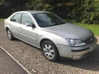 Ford Mondeo 2,0 diesel new mot DEBIT/CREDIT CARDS ACCEPTED