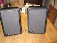 Pair of Mordaunt-Short speakers