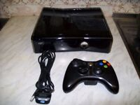 Xbox 360 (250GB) with games (MW3 and Far Cry)