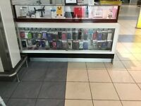 Mobile phone accessories kiosk for sale. Open for all offers