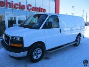 "2017 GMC Savana 2500 135"" WB Cargo Van, Cargo Safety Barrier"