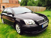 Toyota Avensis 1.8 Automatic 2005 55 plate