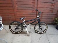 Blank verse bmx style bike