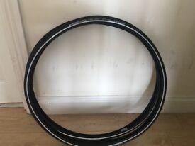 New Schwalbe Marathon 28mm tyres